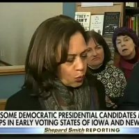 'I, I — OKAY, SO': Kamala Harris speechless when asked about Smollett tweet