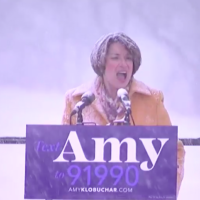 Sign of Things to Come? Klobuchar Announces Presidential Candidacy During Grueling Snowstorm