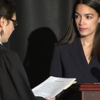 "Alexandria Ocasio-Cortez Endorses ""Right to Migrate"" in Inaugural Address"