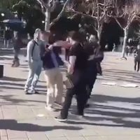 WATCH: 'Leftist Thug' Attacks Turning Point USA Recruiter At Berkeley
