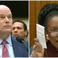 "Sheila Jackson Lee Triggered After Whitaker Trolls Judiciary Committee, ""Mr. Attorney General, Your Humor is Not Acceptable"" (VIDEO)"