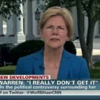 Senator Elizabeth Warren Calls for Coup Against President of the United States