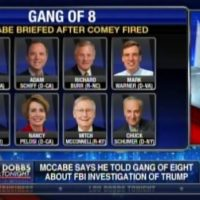 Andrew McCabe Says NO ONE in 'Gang of Eight' Objected to Spying on Trump (VIDEO)