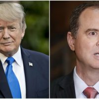 President Trump Calls Out Adam Schiff Over His Secret Meeting with Glenn Simpson in Aspen
