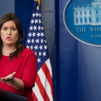 Sarah Sanders Releases Statement on Democrat 'Fishing Expedition'