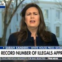 "WH Spokeswoman Sarah Sanders to Turncoat GOP Senators Who Will Vote Against Border Emergency: ""Do Your Job!"" (VIDEO)"
