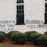 South Carolina Church Vandalized With 'Submit to God Thru Allah' Graffiti