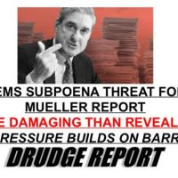 DEEP STATE LEAK: Mueller's Team Says Trump Report More Damaging Than Bill Barr Reveals