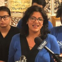 'The Squad's' Rashida Tlaib Uses Multiple Names While Hanging Out With Some Suspect Characters!