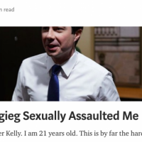 BREAKING: Media Darling Buttigieg Accused of Sexual Assault