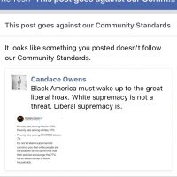 Candace Owens Suspended from Facebook After Posting Facts About Poverty Rates