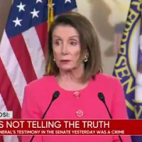 BREAKING: Pelosi Accuses Bill Barr of Committing Crime 'He Lied to Congress' (VIDEO)