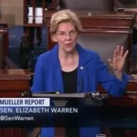 Fake Indian Elizabeth Warren Calls For Impeachment Proceedings Against President Trump From Senate Floor (VIDEO)