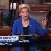 Fake Indian Elizabeth Warren Calls For Impeachment Proceedings Against President Trump From Senate Floor (VIDEO)
