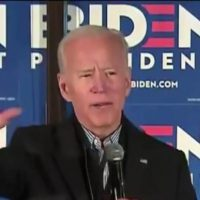 AWKWARD: Creepy Biden Tells New Hampshire Crowd He's Running For President to Make America Great Again (VIDEO)