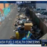 Mountains of Rotting Rat-Infested Trash Piles Sky-High in Liberal Utopia of Los Angeles (VIDEO)