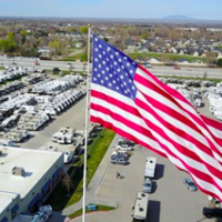 Camping World refuses to stop flying giant American flag, fined $11,000