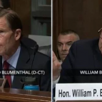 Bill Barr Blasts Richard 'Da Nang Dick' Blumenthal, 'It's Over… We Have to Stop Using the Criminal Justice Process as a Political Weapon' (VIDEO)