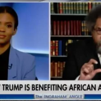 Hah-Hah! Candace Owens and Cornel West Argue Over Maxine Waters and Her Low IQ (VIDEO)
