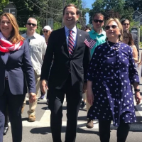 Thank God She is Not President – Hillary Clinton Looks Like an Old Grandma in a Blue Muumuu at Memorial Day Parade