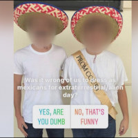 Students forced to remove sombreros, fake mustache on 'extraterrestrial/alien day'