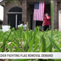 Army soldier battles HOA over flying American flag on unapproved days