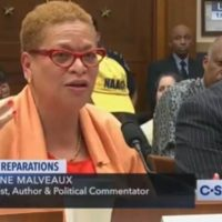 Political Commentator Pushing for Slavery Reparations Calls Republicans 'The Devil' During Congressional Hearing
