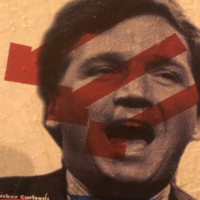 Antifa doxing Tucker Carlson and Stephen Miller with posters all over DC listing home addresses