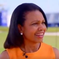 Condoleezza Rice Shuts Down Another Reporter For Saying Russia Helped Elect Trump (VIDEO)