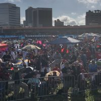 Trump Fest! Thousands wait as POTUS kicks off 2020 campaign with giant Orlando rally