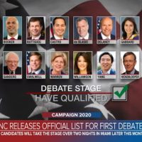 CLOWN CAR: DNC Announces That Twenty Democrats Have Qualified For First Debates In Late June