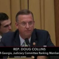 GOP Rep. Doug Collins Slams Democrat-Led Judiciary Committee For Trotting Out Watergate Figure From the 70's (VIDEO)