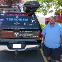 "Black Trump Supporter's ""Liberalism Is Terrorism"" Trump Truck Triggers Portland Snowflakes"