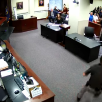 WATCH: Son of Murdered Woman Attacks Alleged Killer in Court