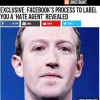 "Revealed: Facebook Has a Process to Label You a ""Hate Agent"" for Behavior Online AND Offline — Just Like the Chinese Social Credit Scoring System"