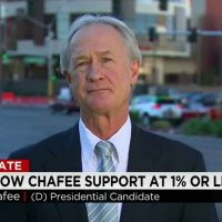 LINCOLN CHAFEE IS RUNNING OUT OF PARTIES
