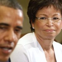 'HE'S VERY CONCERNED': Valerie Jarrett expects Obama to play in 2020 election