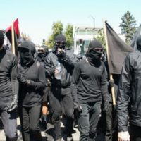 Portland, OR mayor mulls mask ban as Trump threatens terrorist designation for Antifa