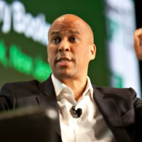 Cory Booker Says 'Testosterone' Makes Him Want to Punch 'Elderly, Out of Shape' Trump