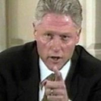 Take a gander at what Democrats once said about impeaching Bill Clinton...