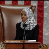 'I am where I belong': Omar responds to Trump crowd chant with photo in Speaker's chair