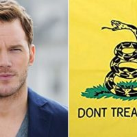 Liberal Media Calls Chris Pratt 'White Supremacist' for Wearing Gadsden Flag T-Shirt