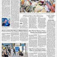New York Times caves to political pressure from Democrats, changes headline on top front-page story