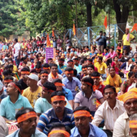 10,000+ Hindus unite in a major rally in India to denounce terrorism, show support for Israel