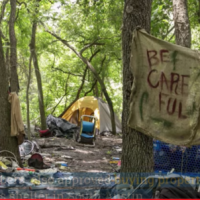 After legalizing homeless camping on city land, Austin, TX officials seek to gag cops talking about problems
