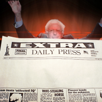 Bernie Sanders is coming for your newspaper