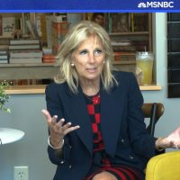 JILL BIDEN: 'Your candidate might be better' on issues than Joe, but he can win