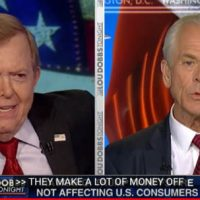 "Trump Economist Peter Navarro on China – Americans Salute The American Flag Not ""The Goldman Sachs Flag"" (Video)"