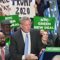 MYSTERY: Did de Blasio suck helium before addressing Iowa AFL-CIO?