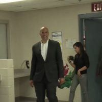 Cory Booker campaigns in NV women's prison